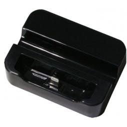 Apple iPhone 5/5S/SE - Polnilna postaja in držalo - črna
