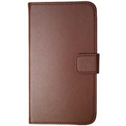 Samsung Galaxy Note 2 - Preklopna torbica (04) - rjava