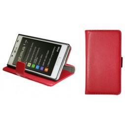 LG Optimus L7 - Preklopna torbica (WL) - rdeča