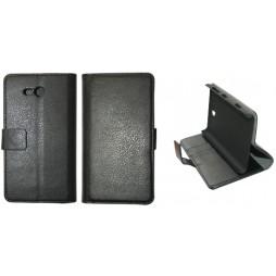 Nokia Lumia 820 - Preklopna torbica (WL) - črna