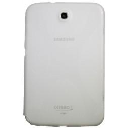 Samsung Galaxy Note 8.0 (N5100) - Gumiran ovitek (TPU) - belo-prosojen SLine