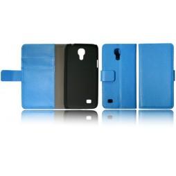 Samsung Galaxy S4 Mini - Preklopna torbica (WL) - modra