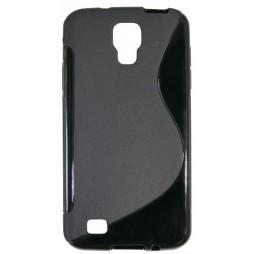 Samsung Galaxy S4 Active - Gumiran ovitek (TPU) - črn SLine