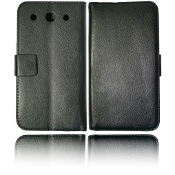 LG Optimus G Pro - Preklopna torbica (WL) - črna