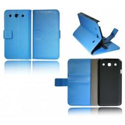 LG Optimus G Pro - Preklopna torbica (WL) - modra