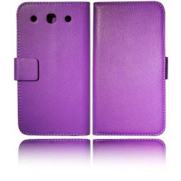LG Optimus G Pro - Preklopna torbica (WL) - vijolična