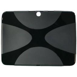 Samsung Galaxy Tab 3 10.1 (P5200) - Gumiran ovitek (TPU) - črn XLine