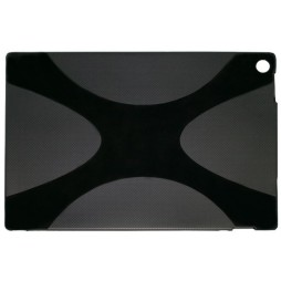 Sony Xperia Tablet Z - Gumiran ovitek (TPU) - črn SLine