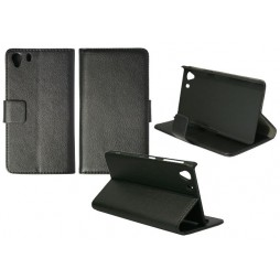 Sony Xperia Z1 - Preklopna torbica (WL) - črna