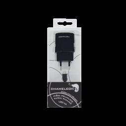 Chameleon hišni polnilnik MSH-TR-071 (1A) z MicroUSB kablom