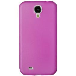 Samsung Galaxy S4 - Okrasni pokrovček (19) - roza-prosojen