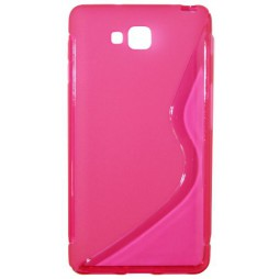 LG Optimus L9 II - Gumiran ovitek (TPU) - roza-prosojen SLine