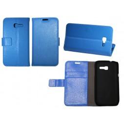 Samsung Galaxy Trend Lite - Preklopna torbica (WL) - modra