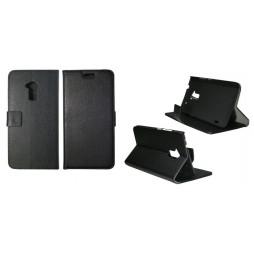 HTC One Max - Preklopna torbica (WL) - črna