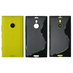 Nokia Lumia 1520 - Gumiran ovitek (TPU) - črn SLine