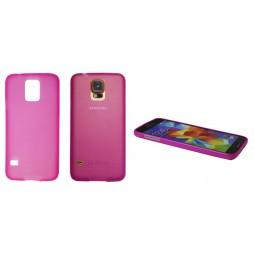 Samsung Galaxy S5/S5 Neo - Gumiran ovitek (TPUT) - roza