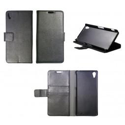 Sony Xperia Z2 - Preklopna torbica (WL) - črna