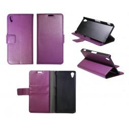 Sony Xperia Z2 - Preklopna torbica (WL) - vijolična