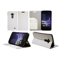 LG G Flex - Preklopna torbica (HT) - bela