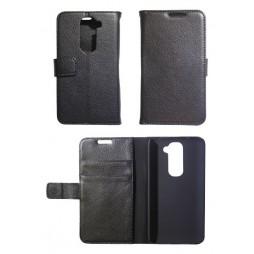 LG G2 mini - Preklopna torbica (WL) - črna
