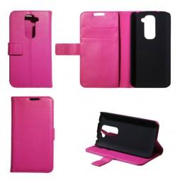 LG G2 mini - Preklopna torbica (WL) - roza