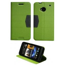 HTC One - Preklopna torbica (47G) - zelena
