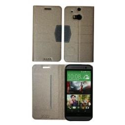 HTC One M8 - Preklopna torbica (47G) - bež