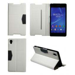 Sony Xperia Z2 - Preklopna torbica (47G) - bela