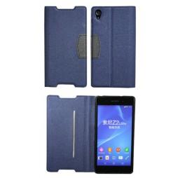 Sony Xperia Z2 - Preklopna torbica (47G) - modra