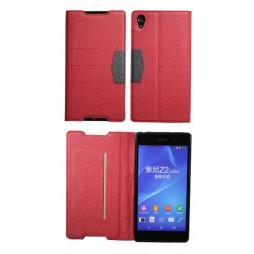 Sony Xperia Z2 - Preklopna torbica (47G) - rdeča