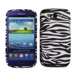 Samsung Galaxy S3 - Gumiran ovitek (TPUP) - Zebra