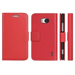Nokia Lumia 930 - Preklopna torbica (WL) - rdeča