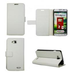 LG L90 - Preklopna torbica (WL) - bela