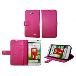 LG L90 - Preklopna torbica (WL) - roza