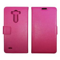 LG G3 - Preklopna torbica (WL) - roza