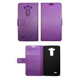 LG G3 - Preklopna torbica (WL) - vijolična