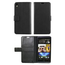 HTC Desire 816 - Preklopna torbica (WL) - črna