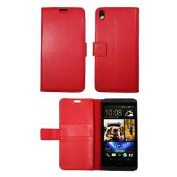 HTC Desire 816 - Preklopna torbica (WL) - rdeča