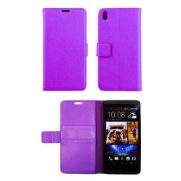 HTC Desire 816 - Preklopna torbica (WL) - vijolična