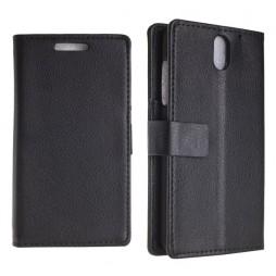 HTC Desire 610 - Preklopna torbica (WL) - črna