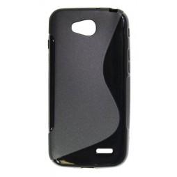 LG L90 - Gumiran ovitek (TPU) - črn SLine