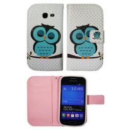 Samsung Galaxy Trend Lite - Preklopna torbica (WLGP) - Blue owl