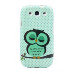 Samsung Galaxy S3 - Gumiran ovitek (TPUP) - Owl