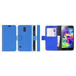 Samsung Galaxy S5 Mini - Preklopna torbica (WL) - modra