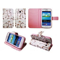 Samsung Galaxy Core - Preklopna torbica (WLGP) - Giraffe
