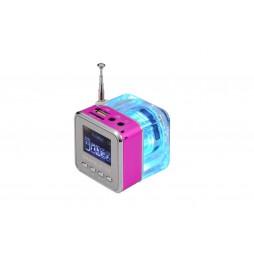 Multifunkcijski zvočnik MP3 - roza (TT029)