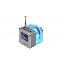 Multifunkcijski zvočnik MP3 - srebrna (TT029)