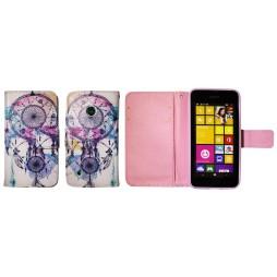 Nokia Lumia 530 - Preklopna torbica (WLGP) - Dreamcatcher
