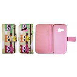 HTC One Mini 2 - Preklopna torbica (WLGP) - Owls