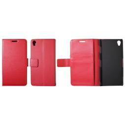 Sony Xperia Z3 - Preklopna torbica (WL) - rdeča